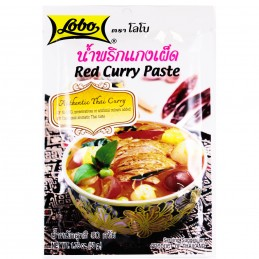 PATE CURRY ROUGE 50G LOBO