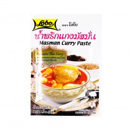 PATE CURRY MASMAN 50G LOBO