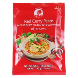 PATE CURRY ROUGE 50G COCK