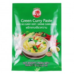 PATE CURRY VERT 50G COCK