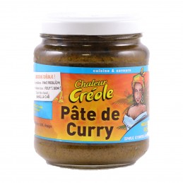PATE CURRY 200G CHALEUR CREOLE