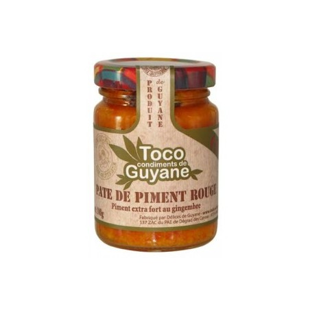 PATE PIMENT ROUGE 100G TOCO