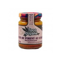 PATE PIMENT CURRY 100G TOCO