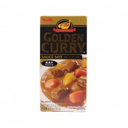SAUCE CURRY HOT GOLDEN 92G S&B