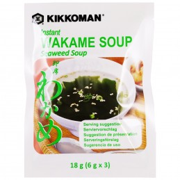SOUPE MISO WAKAME 3x6G...