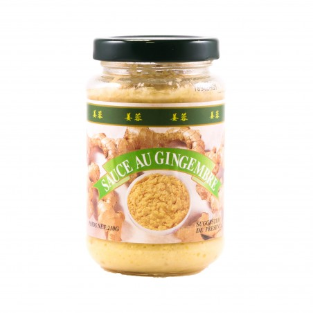 SAUCE GINGEMBRE 210G COCK