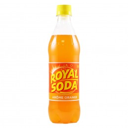 SODA ORANGE 50CL ROYAL SODA