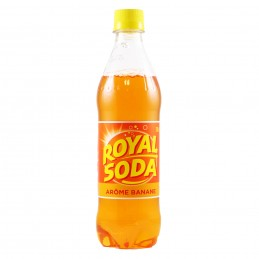 SODA BANANE 50CL ROYAL SODA